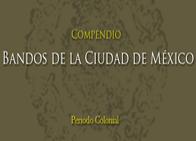 Compendio de Bandos de la Cd. de México